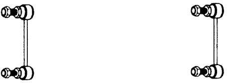 AUDI STABILIZÁTOR LF13668 (OEM:4A0 505 389, 90-97 HÁTSÓ (L:123MM) AUDI A6,S6,)