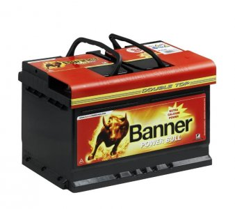 BANNER POWER BULL 12V 70AH 560A BAL+ ÁZSIA AKKUMULÁTOR