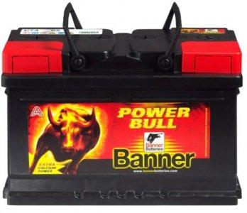 BANNER POWER BULL 74AH 680A JOBB+ AKKUMULÁTOR