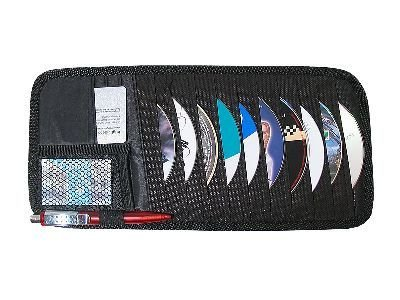 CD tartó napellenzőre