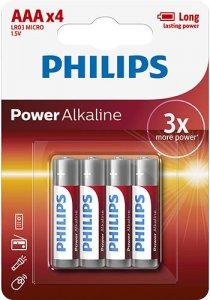 Ceruzaelem AAA 4 db 1.5V (power alkaline)