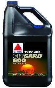 CITGO CITGARD 600 CJ-4 HEAVY DUTY 15W40 3,78 L MOTOROLAJ