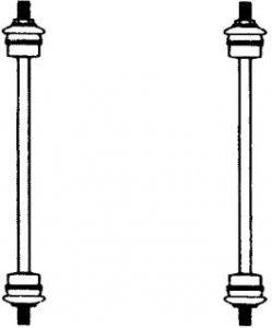 CITROEN STABILIZÁTOR G2213 ELSŐ (OEM:5087.33, 86-98 BAL-JOBB (M10X1,25) CITROENOEN AX)