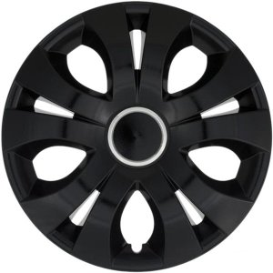 """Dísztárcsa 15"""" - top ring black (4 db)"""