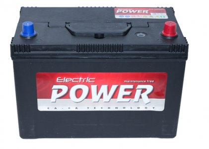 ELECTRIC POWER 100AH 750A JOBB+ JAPÁN AKKUMULÁTOR 323X175X215