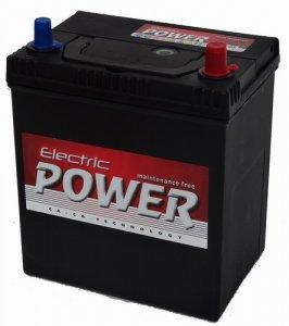 ELECTRIC POWER 40AH 300A JOBB+ ÁZSIA AKKUMULÁTOR
