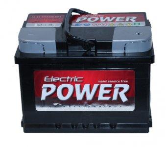 ELECTRIC POWER 60AH 500A JOBB+ AKKUMULÁTOR 241*175*175