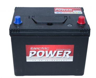ELECTRIC POWER 70AH 600A JOBB+ TALP NÉLKÜLI AKKUMULÁTOR