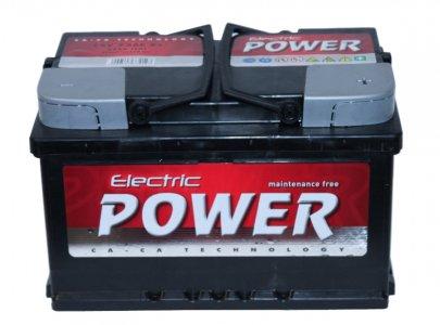 ELECTRIC POWER 72AH 680A JOBB+ AKKUMULÁTOR