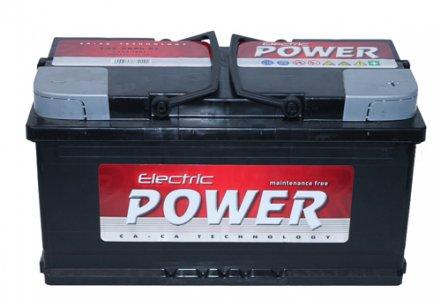 ELECTRIC POWER 88AH 720A JOBB+ AKKUMULÁTOR