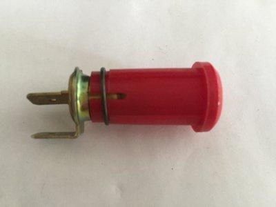 Ellenőrző lámpa - piros