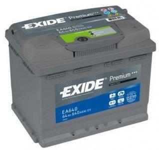 EXIDE PREMIUM EA640 64AH 640A JOBB+ (EA640)