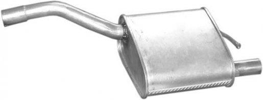 Ford hátsó kipufogó W72329 alumínium (focus 1.4i-16v 98-02)