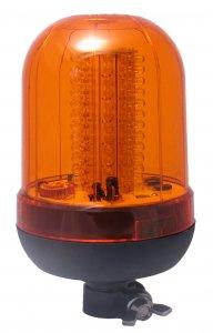 Forgólámpa 12/24V - sárga 100 LED