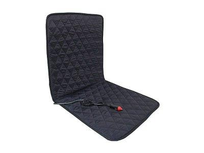 Fűthető ülésvédő 24V - fekete