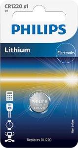 Gombelem CR1220 3V (lítiumos)