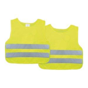 Gyerek láthatósági mellény fényvisszaverő (sárga)