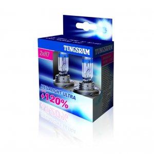 H7 izzó 12V 55W PX26D (pár) Megalight ultra +120%