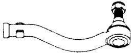 HONDA GÖMBFEJ G1193 SZÉLSŐ (OEM:53540-SH3-013, 87-92 JOBB (M14X1,5 BELSŐ MENET)