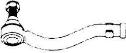 HONDA GÖMBFEJ G1372 SZÉLSŐ BAL (OEM:53560-SR3-003, 91-97 (M14X1,5) HONDA CIVIC, CR)
