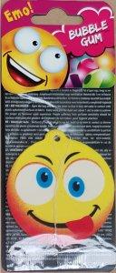 Illatosító Emoji fej - buble gum