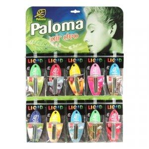 Illatosító folyékony parfümmel (táblás vegyes 30db)