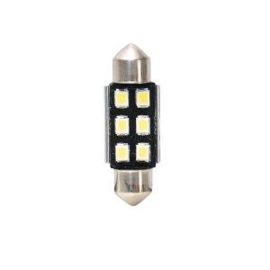 IZZÓ LED 12V SV8.5 36MM (SZOFITA) 6 LED CANBUS 2DB