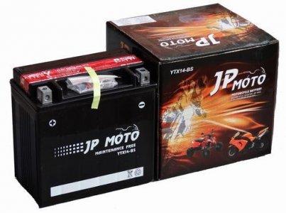 JP MOTO AGM 12V 12AH BAL YTX14-BS AKKUMULÁTOR