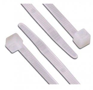 Kábelkötegelő 370x4,8 mm fehér (gyorskötöző) 100 db/csomag 100DB/CSOMAG