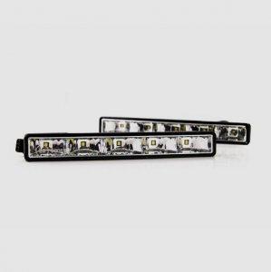 LED lámpa (nappali fény) 12V fehér (5 LED)
