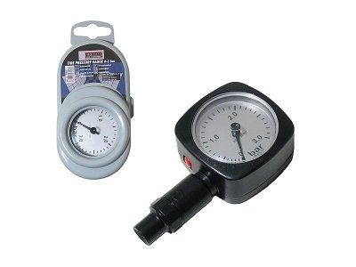 Légnyomásmérő fekete 3 bar