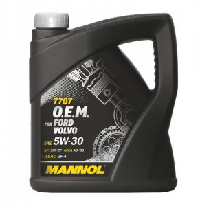 Mannol 7707 Ford Volvo 5W30 4L Motorolaj