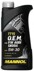 MANNOL 7715 VW AUDI SKODA 5W30 1L MOTOROLAJ
