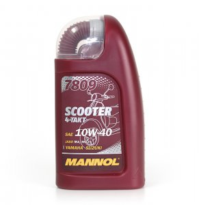 MANNOL 7809 SCOOTER 10W40 4T 1L MOTOROLAJ