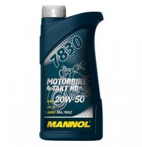 MANNOL 7830 MOTORBIKE HD 20W50 4T 1L MOTOROLAJ