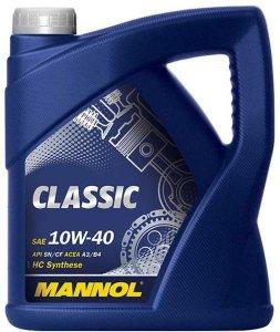 MANNOL CLASSIC 10W40 5L MOTOROLAJ