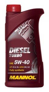 Mannol Diesel Turbo 5W40 1L Motorolaj