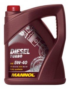 Mannol Diesel Turbo 5W40 5L Motorolaj