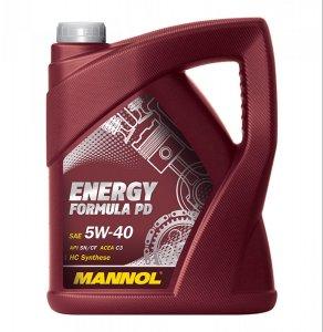 Mannol Energy Formula Pd 5W40 5L Motorolaj