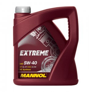 MANNOL EXTREME 5W40 4L MOTOROLAJ