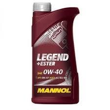 MANNOL LEGEND+ESTER 0W40 1L MOTOROLAJ