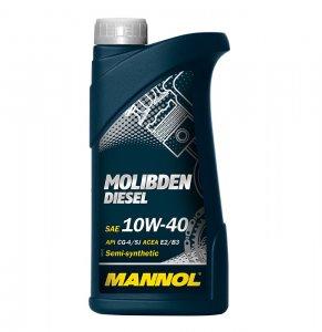 Mannol Molibden Diesel 10W40 1L Motorolaj