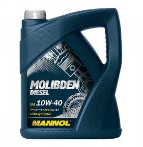 Mannol Molibden Diesel 10W40 5L Motorolaj