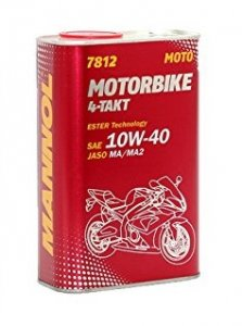 MANNOL MOTORBIKE 7812 10W40 4T 4L MOTOROLAJ