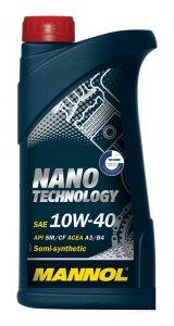 Mannol Nano Technology 10W40 1L Motorolaj