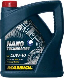MANNOL NANO TECHNOLOGY 10W40 4L MOTOROLAJ