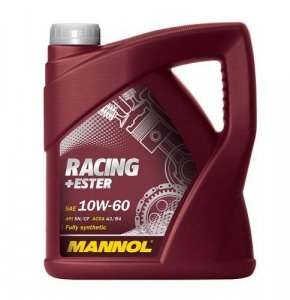 Mannol Racing+Ester 10W60 4L Motorolaj