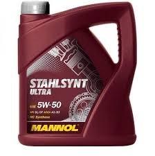 MANNOL STAHLSYNT ENERGY 5W30 4L MOTOROLAJ