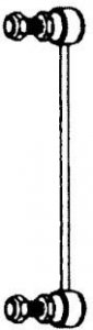 MAZDA STABILIZÁTOR GQLS3362S (OEM:GE4T-28-170, 5/97- H?TSË BAL-JOBB (L:230MM)