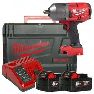 "Milwaukee  akkumulátoros ütvecsavarozó 1/2"" M18 FHIWF12-502X (1356nm/2x5.0ah/18v)"